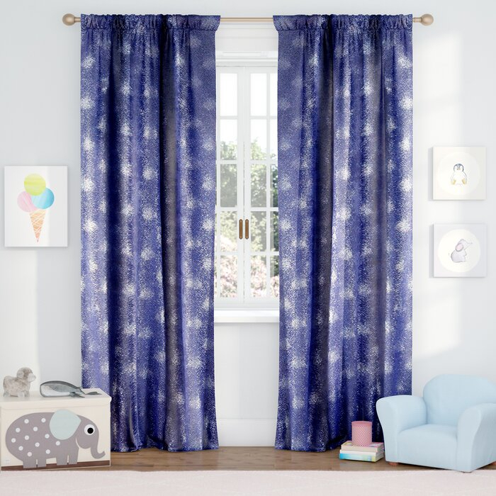 Evangeline Abstract Blackout Rod Pocket Curtain Panels Intended For Abstract Blackout Curtain Panel Pairs (#16 of 46)