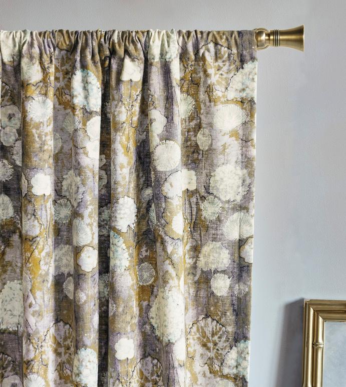 Evangeline Rod Pocket Curtain Panel In Pastel Pertaining To Rod Pocket Curtain Panels (View 12 of 34)