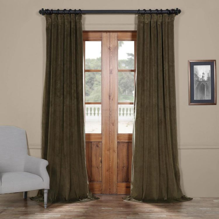 "Evelina Faux Dupioni Silk Beaded Tassels Extreme 50"" Window In Evelina Faux Dupioni Silk Extreme Blackout Back Tab Curtain Panels (View 11 of 33)"