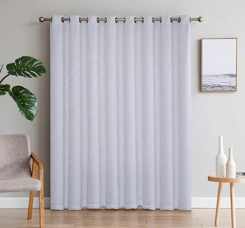 Evelyn – Embossed Thermal Weaved Blackout Curtains | Drapes Intended For Embossed Thermal Weaved Blackout Grommet Drapery Curtains (View 20 of 42)