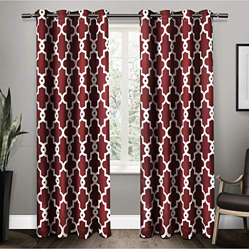 Exclusive–Curtains Home South Africa | Buy Exclusive Regarding Forest Hill Woven Blackout Grommet Top Curtain Panel Pairs (#17 of 45)