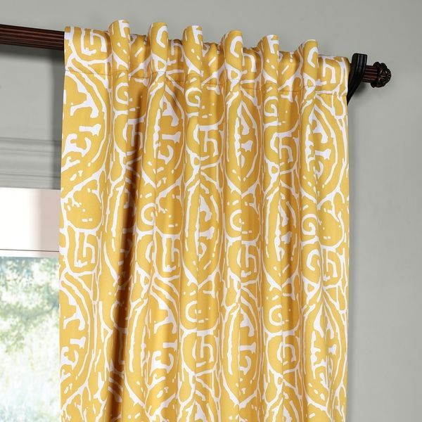 Popular Photo of Abstract Blackout Curtain Panel Pairs