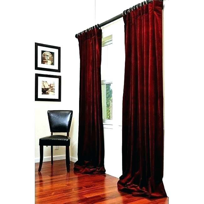 Exclusive Fabrics Curtains – Frogfreaks With Signature Pinch Pleated Blackout Solid Velvet Curtain Panels (View 44 of 50)