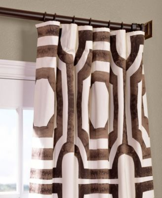 """Exclusive Fabrics & Furnishings Mecca Printed Cotton 50"""" X Inside Mecca Printed Cotton Single Curtain Panels (View 5 of 50)"""