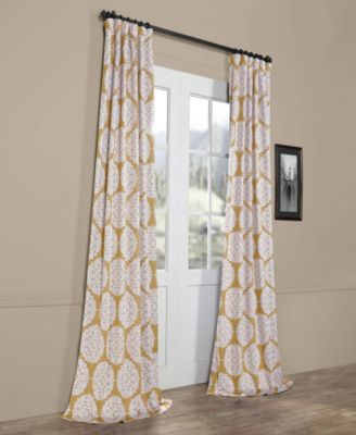 "Exclusive Fabrics & Furnishings Meridian Blackout 50"" X 108 Pertaining To Meridian Blackout Window Curtain Panels (#31 of 50)"