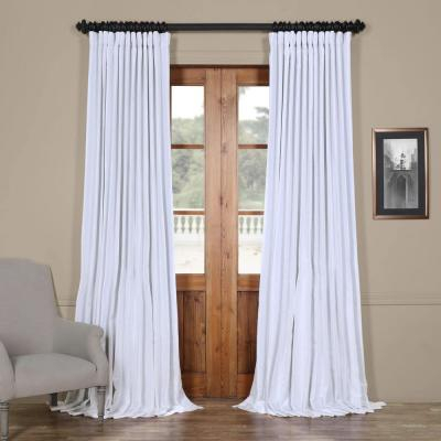 Exclusive Fabrics & Furnishings Off White Blackout Vintage Within Storm Grey Vintage Faux Textured Dupioni Single Silk Curtain Panels (View 30 of 50)