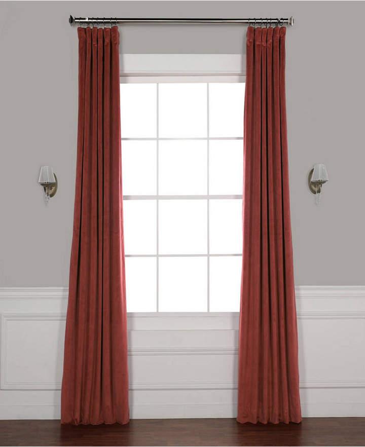 Exclusive Fabrics & Furnishings Signature Blackout Velvet 50 Regarding Signature Blackout Velvet Curtains (#11 of 50)