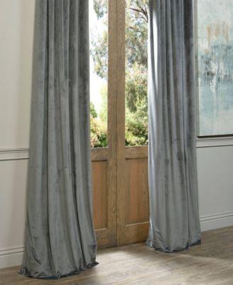 Exclusive Fabrics & Furnishings Signature Blackout Velvet 50 With Signature Blackout Velvet Curtains (#13 of 50)