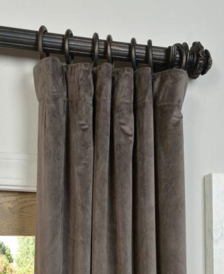 Exclusive Fabrics & Furnishings Signature Blackout Velvet 50 With Signature Blackout Velvet Curtains (#12 of 50)