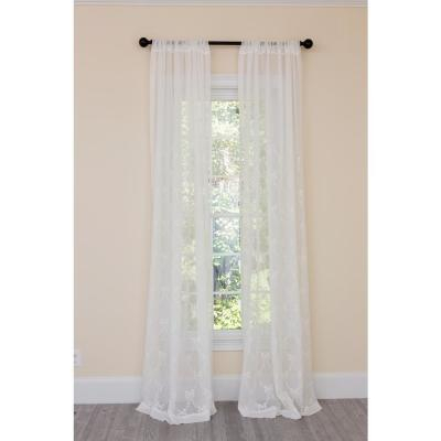 Exclusive Fabrics & Furnishings Signature Double Layered Off Inside Signature White Double Layer Sheer Curtain Panels (View 11 of 50)