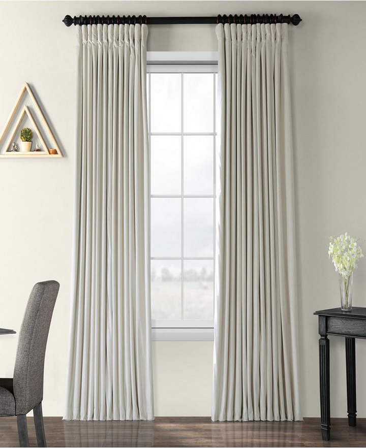 Exclusive Fabrics & Furnishings Signature Extra Wide With Faux Linen Extra Wide Blackout Curtains (View 18 of 50)