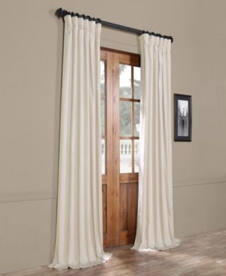 """Exclusive Fabrics & Furnishings Solid Cotton Blackout 50"""" X Throughout The Gray Barn Kind Koala Curtain Panel Pairs (View 5 of 50)"""
