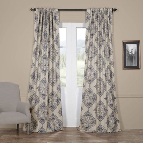 Popular Photo of Moroccan Style Thermal Insulated Blackout Curtain Panel Pairs