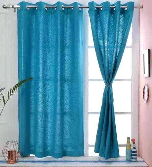 Exclusive Fabrics True Blackout Vintage Textured Faux Silk Within Solid Cotton True Blackout Curtain Panels (#24 of 50)