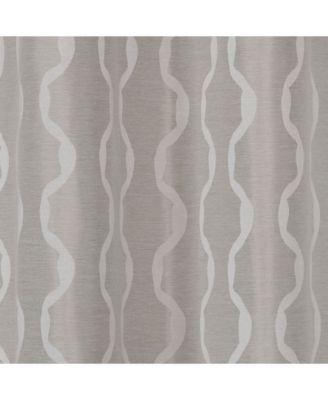 Exclusive Home Baroque Textured Linen Look Jacquard Grommet Throughout Baroque Linen Grommet Top Curtain Panel Pairs (View 16 of 48)