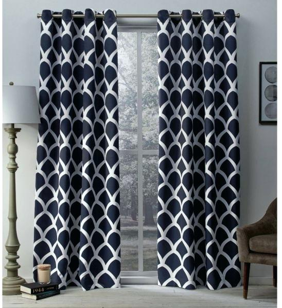 Exclusive Home Curtains Academy Total Blackout Grommet Top For Woven Blackout Curtain Panel Pairs With Grommet Top (#12 of 42)