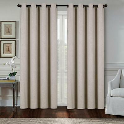 Exclusive Home Curtains Indoor/outdoor Curtain Panel Pair, Taupe, 54X96 642472007318 | Ebay With Indoor/outdoor Solid Cabana Grommet Top Curtain Panel Pairs (View 22 of 48)