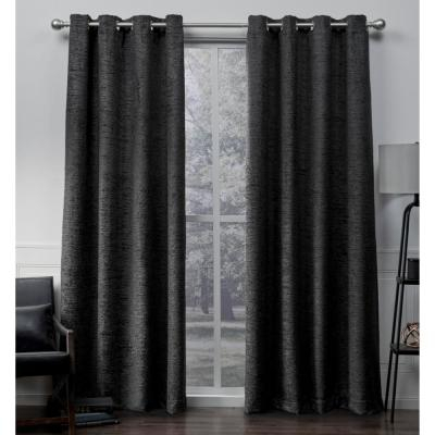 Exclusive Home Curtains Indoor/outdoor Solid Cabana Grommet In Indoor/outdoor Solid Cabana Grommet Top Curtain Panel Pairs (View 27 of 48)