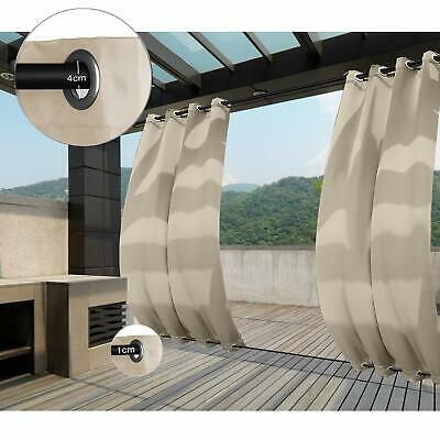 Exclusive Home Curtains Indoor/outdoor Solid Cabana Window With Regard To Indoor/outdoor Solid Cabana Grommet Top Curtain Panel Pairs (View 37 of 48)