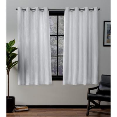 Exclusive Home Curtains Kochi Blush Grommet Top Curtain Pair Regarding Kochi Linen Blend Window Grommet Top Curtain Panel Pairs (View 23 of 36)