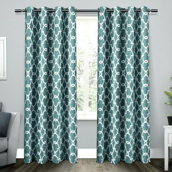 Exclusive Home Curtains – Konj Pertaining To Sateen Woven Blackout Curtain Panel Pairs With Pinch Pleat Top (#7 of 40)