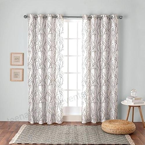 Exclusive Home Curtains – Plataformamovimientosocial With Regard To Baroque Linen Grommet Top Curtain Panel Pairs (View 25 of 48)