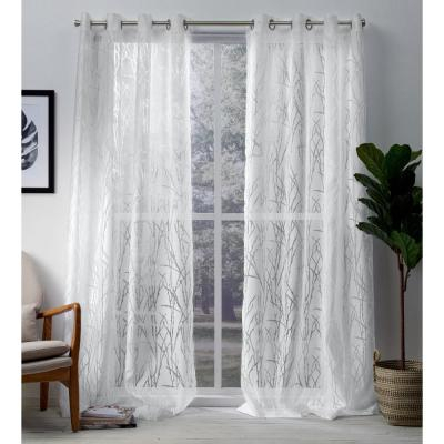 Exclusive Home Curtains Sateen Twill Weave Blackout Grommet Throughout Sateen Twill Weave Insulated Blackout Window Curtain Panel Pairs (View 9 of 29)