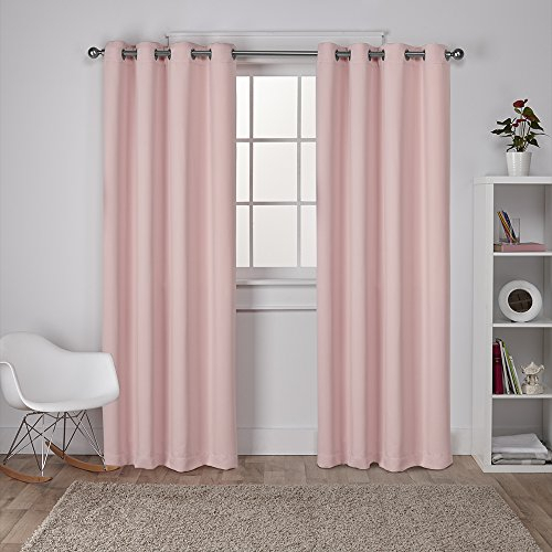 Exclusive Home Curtains Sateen Twill Weave Insulated For Insulated Grommet Blackout Curtain Panel Pairs (View 24 of 50)