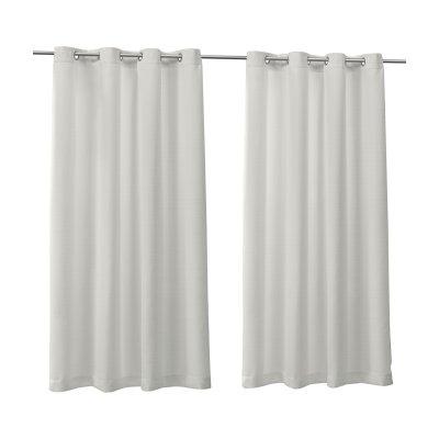 Popular Photo of Delano Indoor/outdoor Grommet Top Curtain Panel Pairs
