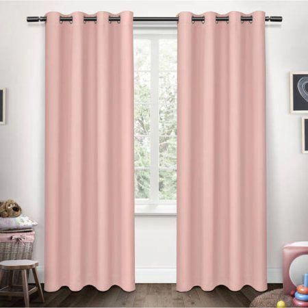 Exclusive Home Sateen Twill Weave Blackout Window Curtain Throughout Sateen Twill Weave Insulated Blackout Window Curtain Panel Pairs (View 6 of 29)