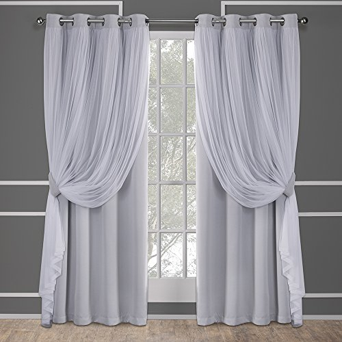 Exclusive Homegarden South Africa | Buy Exclusive Homegarden Within Oxford Sateen Woven Blackout Grommet Top Curtain Panel Pairs (View 14 of 44)