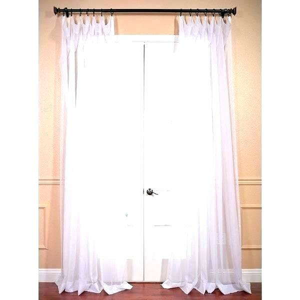 Extra Long White Curtain Panels | Flisol Home In Extra Wide White Voile Sheer Curtain Panels (View 12 of 50)