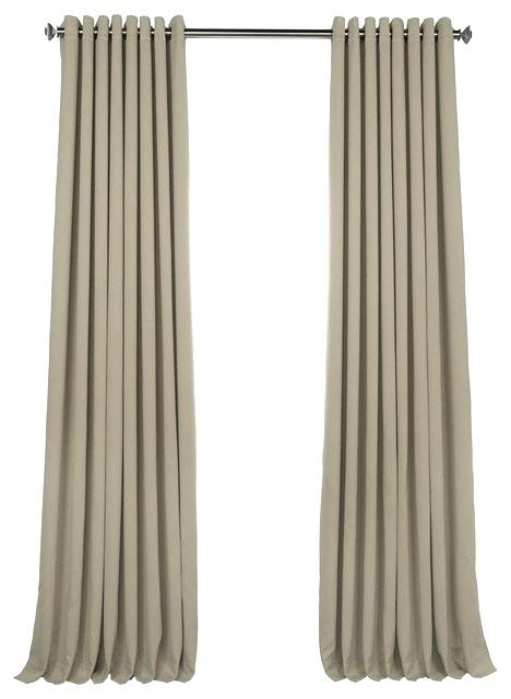 Extra Wide Blackout Curtains Long New Amazon Exclusive For Faux Silk Extra Wide Blackout Single Curtain Panels (View 16 of 50)