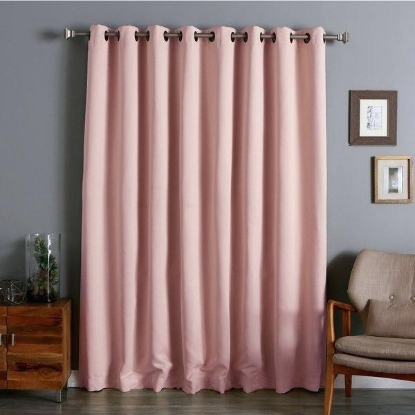 Extra Wide Curtain Panels Extra Wide Outdoor Curtain Panels For Faux Linen Extra Wide Blackout Curtains (View 22 of 50)