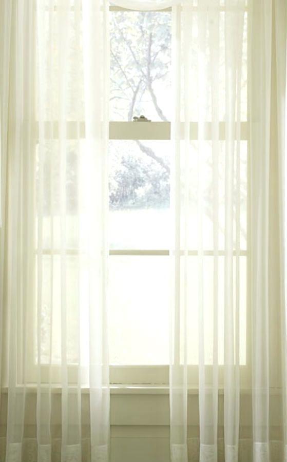 Extra Wide Sheer Curtains – Jelajah Pertaining To Extra Wide White Voile Sheer Curtain Panels (View 19 of 50)