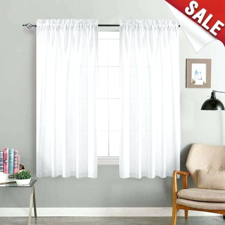 Extra Wide Sheer Curtains – Trackidz In Extra Wide White Voile Sheer Curtain Panels (View 23 of 50)