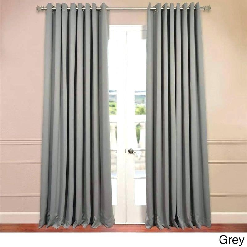 Extra Wide Sheer Curtains – Trackidz In Wavy Leaves Embroidered Sheer Extra Wide Grommet Curtain Panels (#20 of 50)