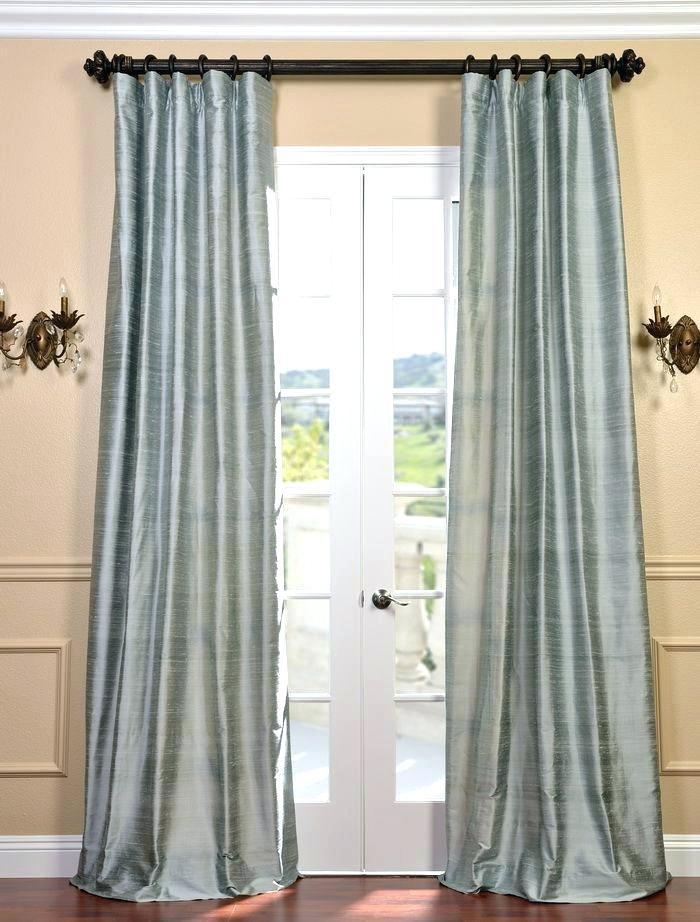 Faux Dupioni Silk Curtains – Albotola (View 27 of 50)
