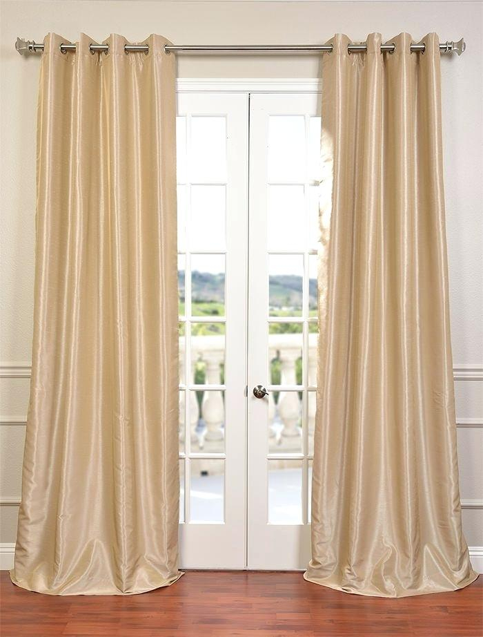 Faux Dupioni Silk Curtains – Avecesar With Regard To Vintage Textured Faux Dupioni Silk Curtain Panels (#20 of 50)