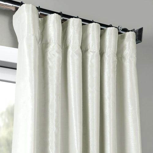 Faux Dupioni Silk Curtains – Home Decor Site Within Vintage Faux Textured Dupioni Silk Curtain Panels (#22 of 50)