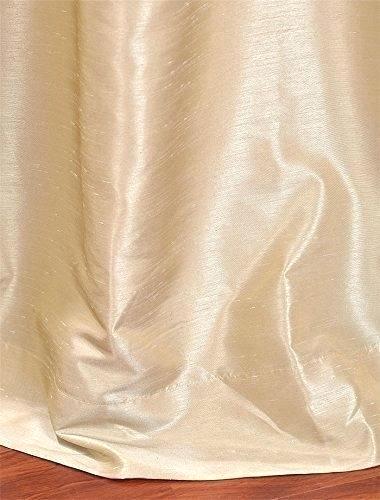 Faux Dupioni Silk Curtains – Martinez Ed Pertaining To Storm Grey Vintage Faux Textured Dupioni Single Silk Curtain Panels (View 21 of 50)