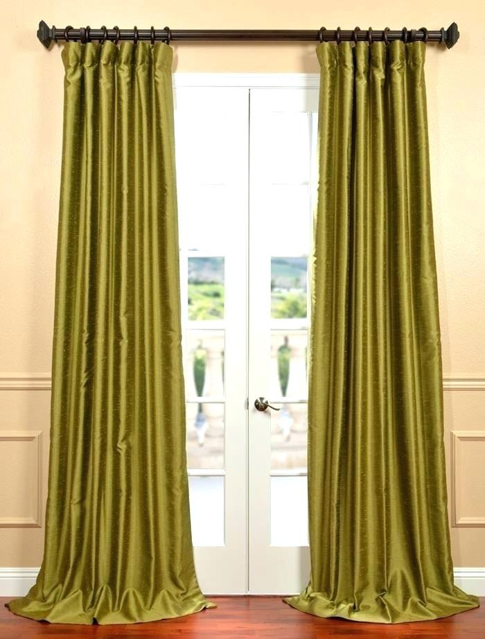 Faux Dupioni Silk Curtains – Martinez Ed Pertaining To Vintage Faux Textured Dupioni Silk Curtain Panels (View 31 of 50)