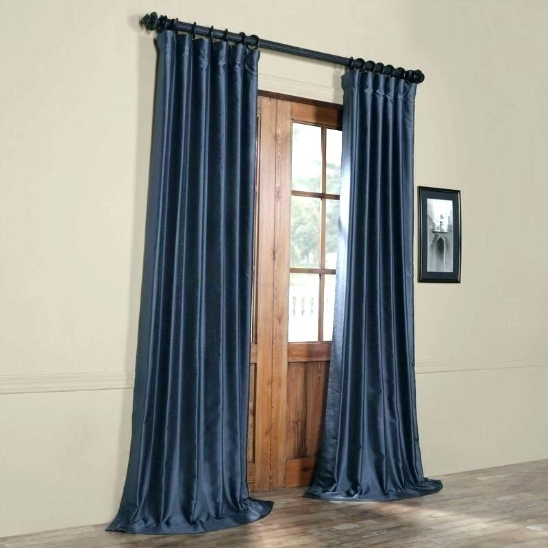 Faux Dupioni Silk Curtains – Martinez Ed Throughout Vintage Textured Faux Dupioni Silk Curtain Panels (#26 of 50)