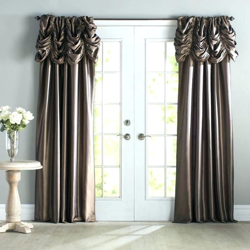 Faux Dupioni Silk Curtains – Martinez Ed With Regard To Faux Silk Extra Wide Blackout Single Curtain Panels (View 20 of 50)