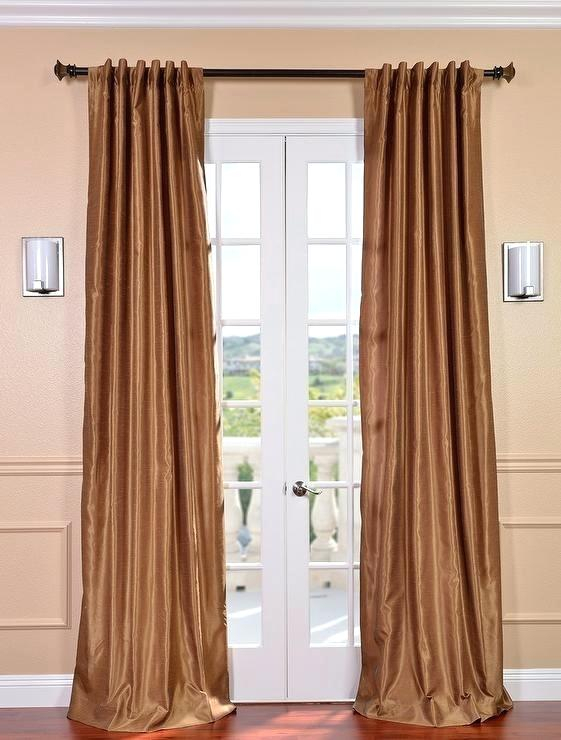 Faux Dupioni Silk Curtains – Servimontajes (#28 of 50)
