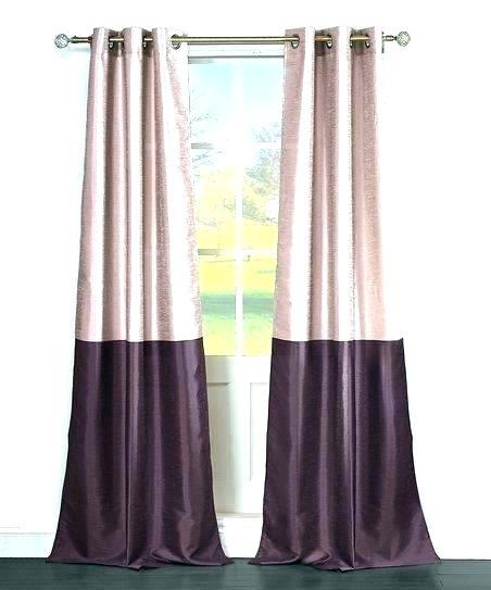 Faux Dupioni Silk Curtains – Vonosta (View 40 of 50)