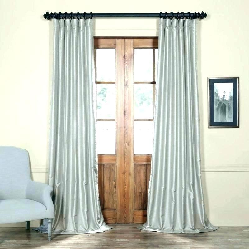 Faux Dupioni Silk Curtains – Vonosta (View 19 of 50)