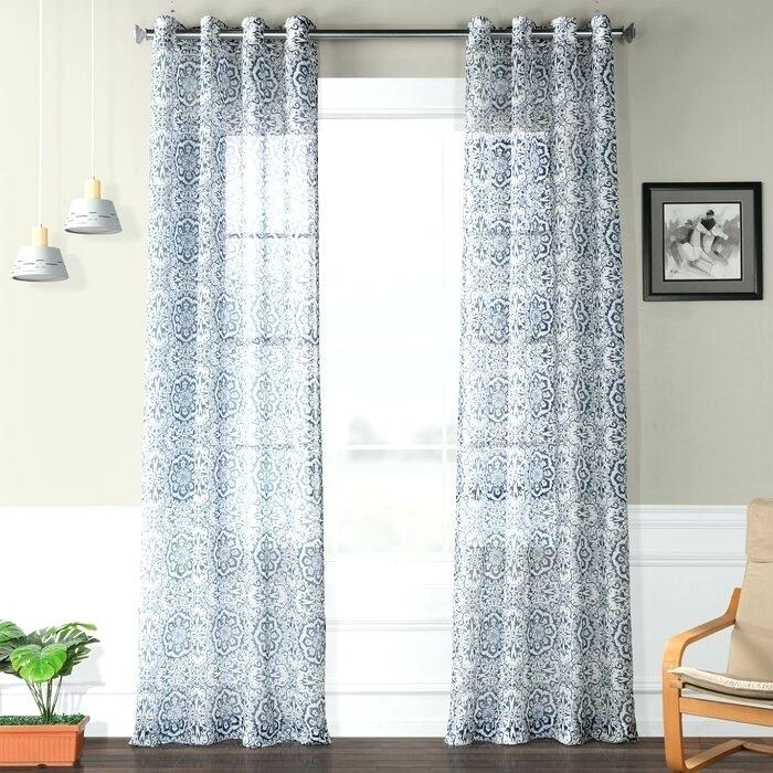 Faux Linen Curtains Faux Linen Panels Faux Linen Drapes Throughout Faux Linen Blackout Curtains (#20 of 50)