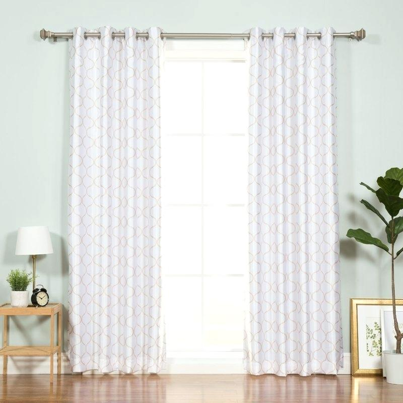 Faux Silk Blackout Curtains – Ezywallet (#19 of 41)