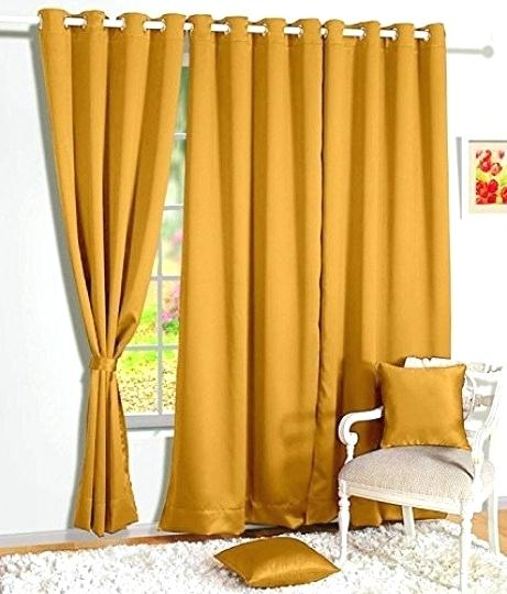 Faux Silk Blackout Curtains – Greenupholstery (View 11 of 50)